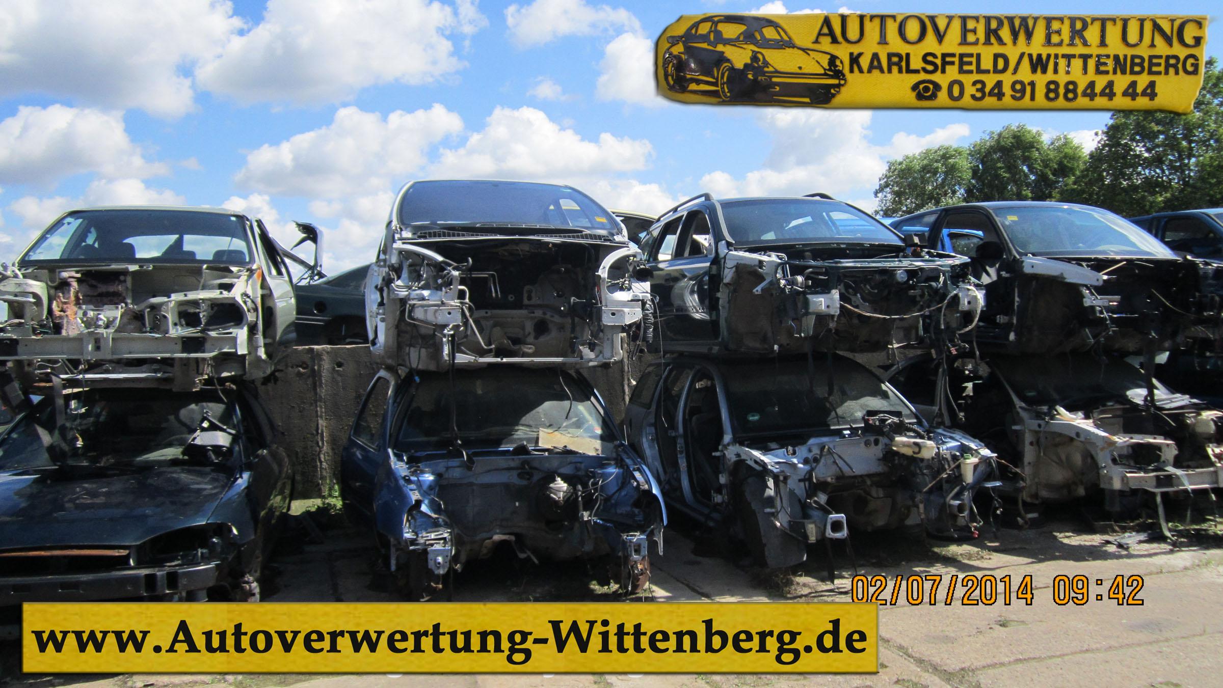 Autoschrottplatz Eiserbeck WB Autoverwertung Wittenberg